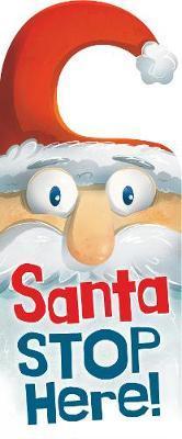 Stop Here Santa Door Hanger Book image