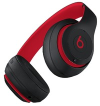 Beats: Studio3 Wireless Over-Ear Headphones - The Beats Decade Collection - With Pure Active Noise Cancellation - Defiant Black/Red image