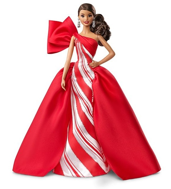 Barbie: Holiday 2019 - Fashion Doll (Brunette Ponytail)