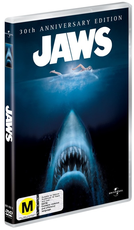 Jaws - 30th Anniversary Edition (2 Disc Set) on DVD