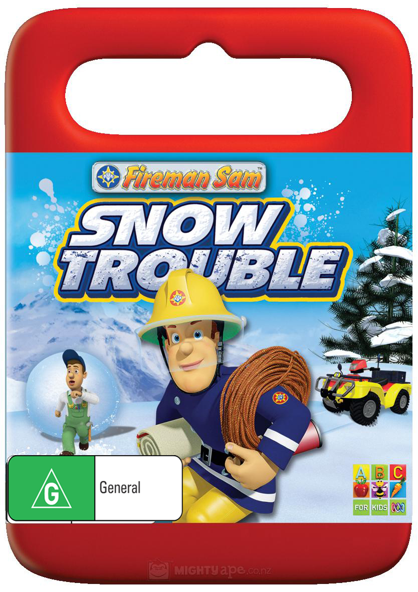 Fireman Sam: Snow Trouble on DVD image