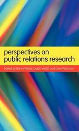 Perspectives on Public Relations Research by Danny Moss