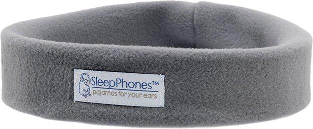 SleepPhones: Wireless Grey Fleece - Small