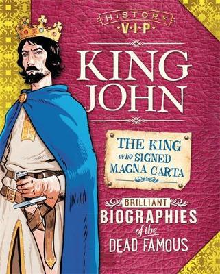 History VIPs: King John by Paul Harrison image