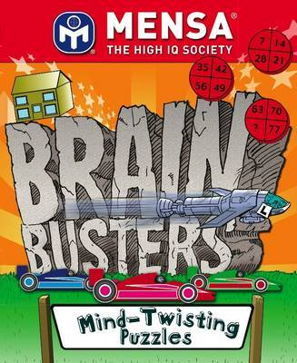 MENSA Brain Busters - Mind Twisting Puzzles by Robert Allen image