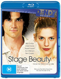 Stage Beauty on Blu-ray