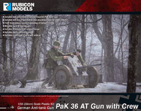 Rubicon 1/56 PaK 36 AT Gun with Crew