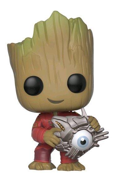 Groot With Cyber Eye Pop Vinyl Figure At Mighty Ape Nz