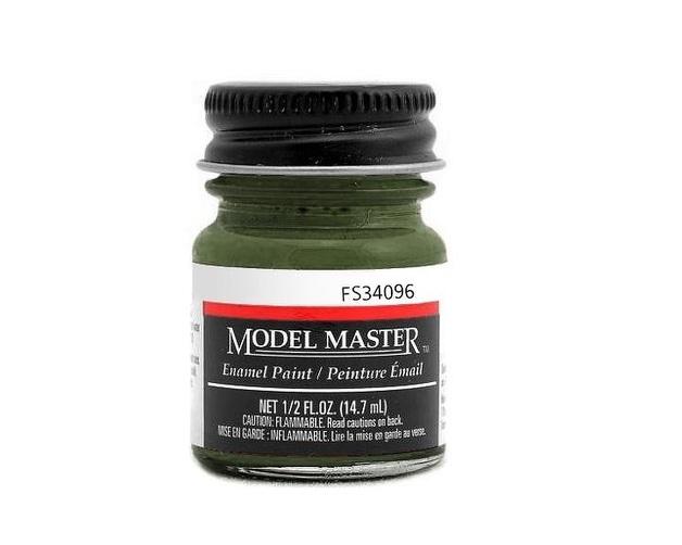 Testors: Enamel Paint - Dark Green B52 (Flat)