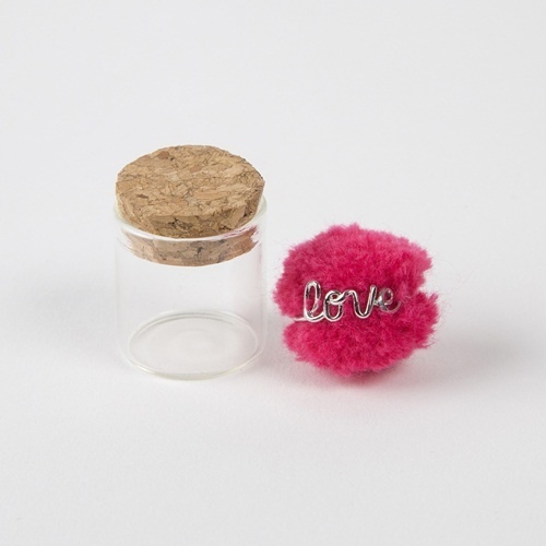 Natural Life: Wire Ring - Love Hot Pink