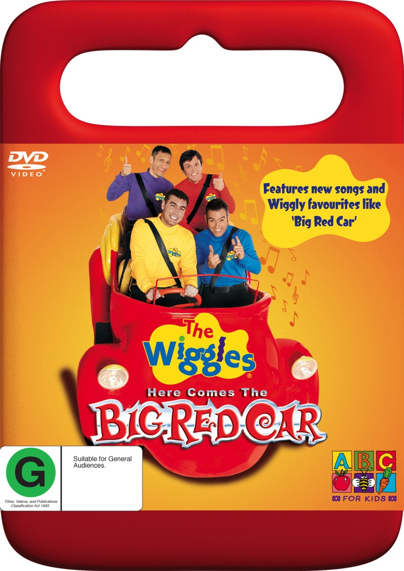 The Wiggles - Here Comes The Big Red Car on DVD image