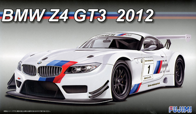 Fujimi: 1/24 BMW Z4 GT3 2012 - Model Kit