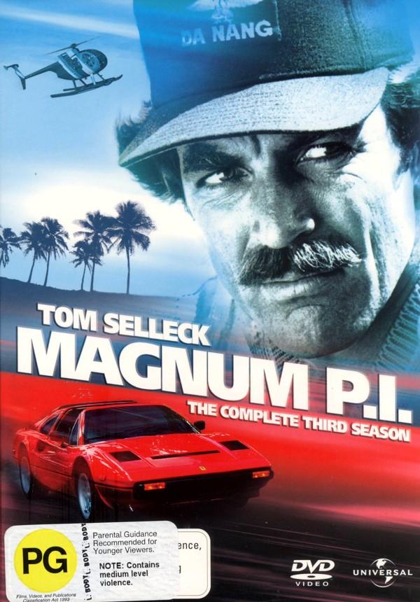 Magnum P.I. - Complete Season 3 (6 Disc Set) on DVD image