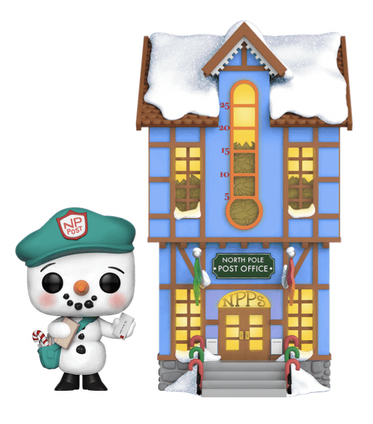 Frosty & Post Office - Pop! Town Diorama | at Mighty Ape