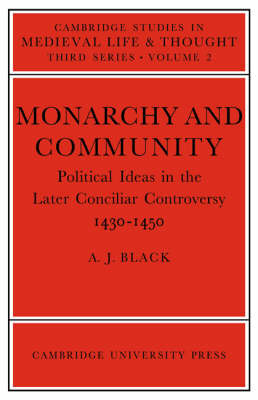 Monarchy and Community by A.J. Black image