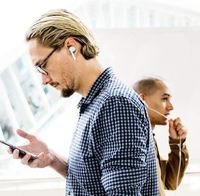 Ape Basics True Wireless Earbuds - White image