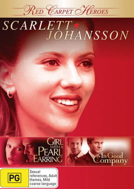 Red Carpet Heroes - Scarlett Johansson (Girl With A Pearl Earring / In Good Company) (2 Disc Set) on DVD