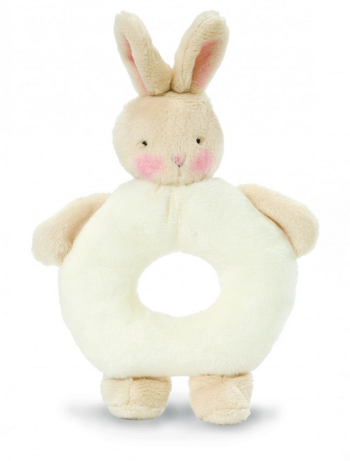 Bunnies By The Bay: White Bunny - Rattle Ring image