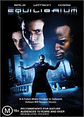 Equilibrium on DVD