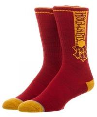 Harry Potter: Hogwarts Vertical Text - Crew Socks