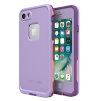 LifeProof Fre Case for iPhone 7/8 - Purple Rose Coral