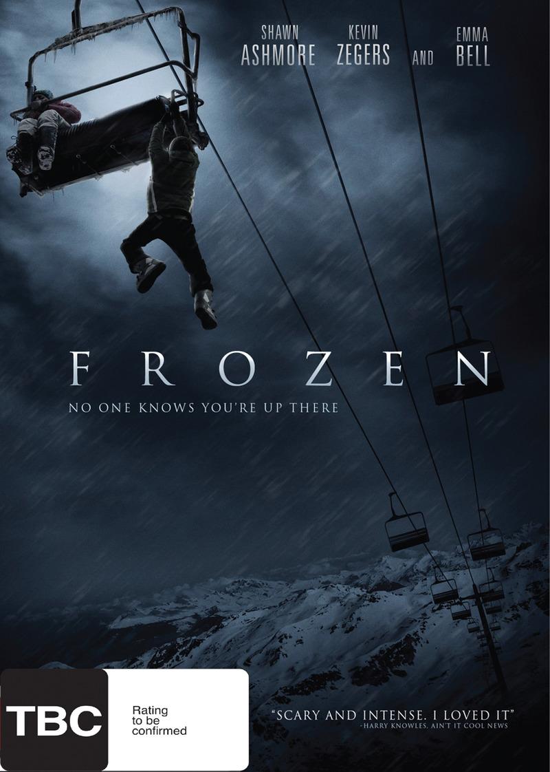 Frozen on DVD image