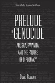 Prelude to Genocide by David Rawson image