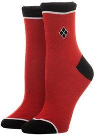 DC Comics: Harley Quinn - Embroided Ankle Socks