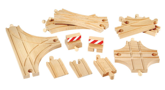 Brio: Railway - Advanced Expansion Pack (11 Pieces)