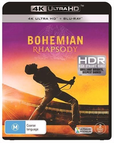 Bohemian Rhapsody on UHD Blu-ray