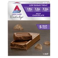 Atkins Endulge Bars - Milk Chocolate (5 x 30g)