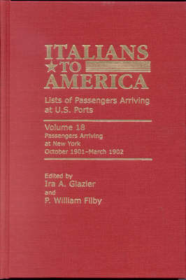 Italians to America, October 1901 - March 1902 image