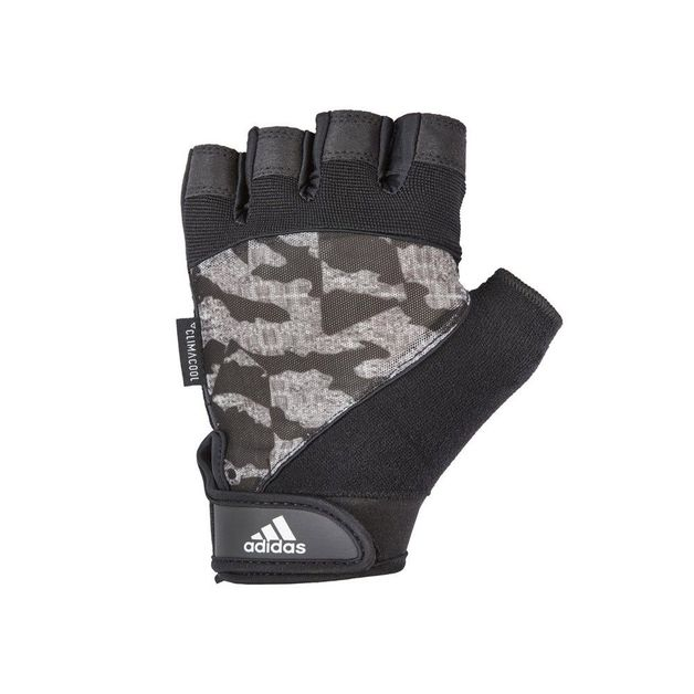 Adidas: Performance Gloves - Grey Camo (Small)