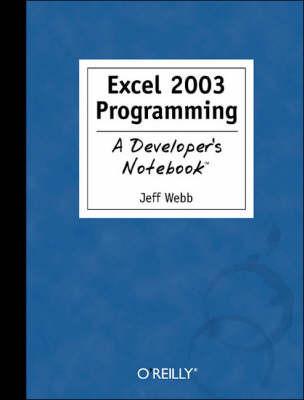 Excel 2003 Programming by J. Webb