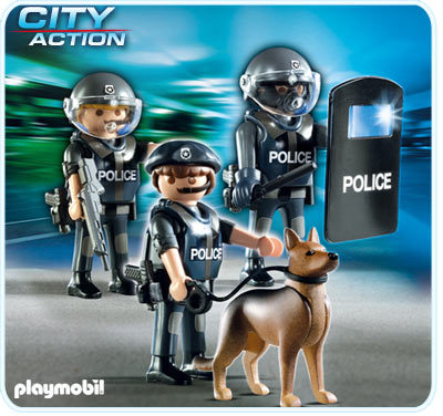 Verrassend Playmobil - Police Special Forces Unit (5186) Images at Mighty Ape NZ MV-24