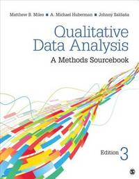 Qualitative Data Analysis by Matthew B. Miles