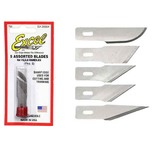 Excel Assorted Heavy Duty Knife Blades (5pc)