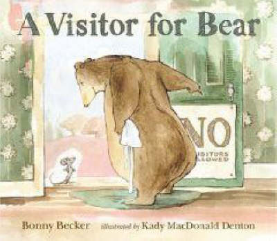 A Visitor for Bear by Bonny Becker image
