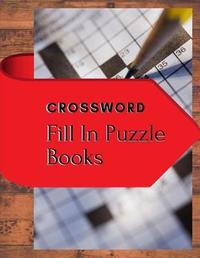 Crossword Fill In Puzzle Books by Samurel M Kardem