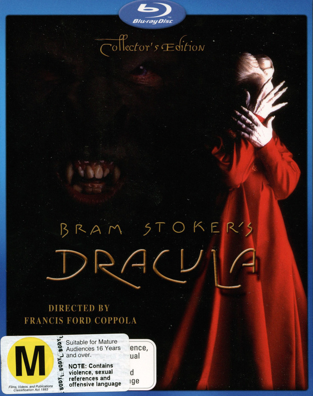 Bram Stoker's Dracula on Blu-ray