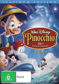 Pinocchio (1940) - 70th Anniversary: Platinum Edition on DVD