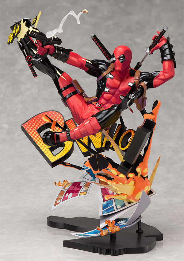 "Marvel: Deadpool ""Breaking the Fourth Wall"" - PVC Figure image"