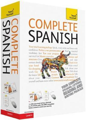 Teach Yourself Complete Spanish by Juan Kattan Ibarra image