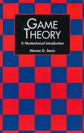 Game Theory by Morton D. Davis