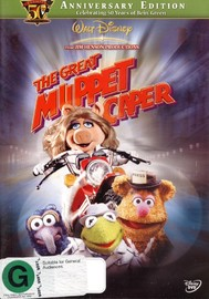 Great Muppet Caper, The: 50th Anniversary on DVD image