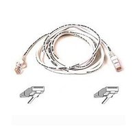 Belkin 3m White CAT5e Snagless Patch Cable image