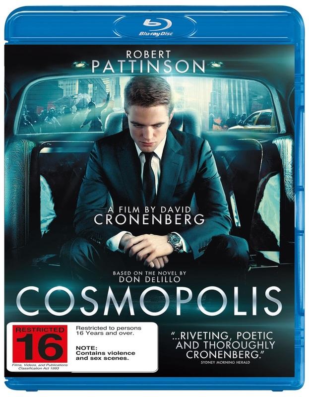 Cosmopolis on Blu-ray