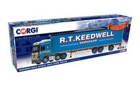 1/50 Mercedes-Benz Actros (MP4) Super Trailer Curtainside Keedwell