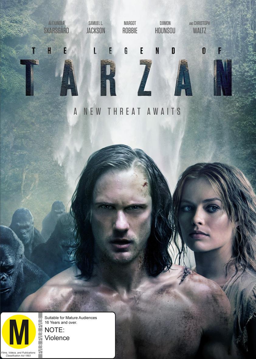 The Legend of Tarzan on DVD image