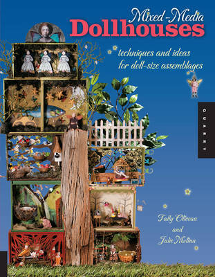 Mixed-Media Dollhouses by Tally Oliveau image